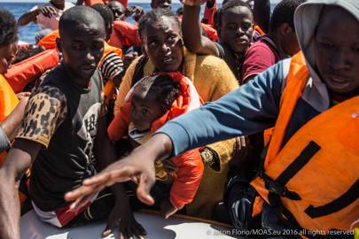 Migrants rescued by Moas on June 11 were making the journey to Europe on eight overcrowded and dangerous boats