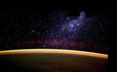 Tim Peake: Milky Way