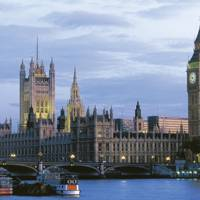 Parliament buildings: Big Ben and the Palace of Westminster