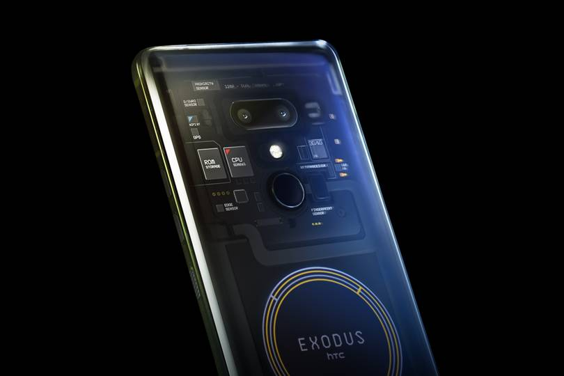 Secure phone for cryptocurrency