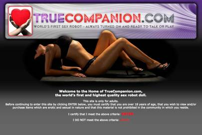 True Companion claims to be developing the world's first sex robot, which is due to launch later this year