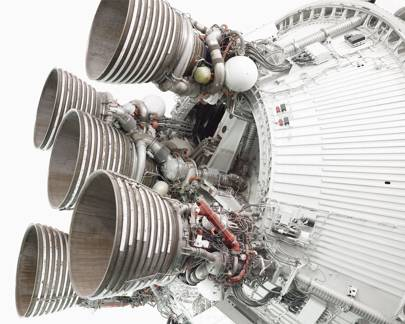 Saturn V stage two RocketDyne J1 motors