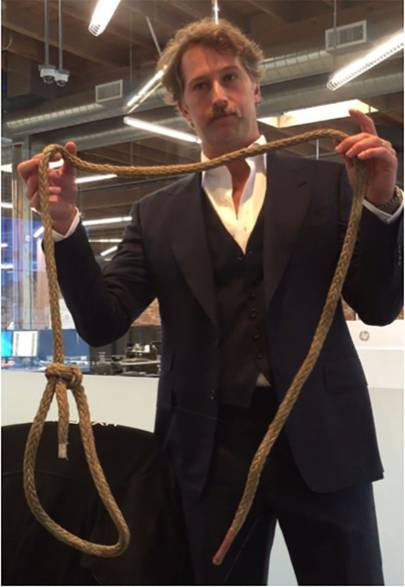 Brogan BamBrogan, departed co-founder of Hyperloop One, with the rope named in the lawsuit