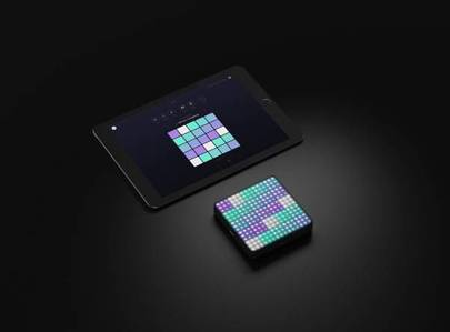 The Lightpad Block and Noise app on iPad