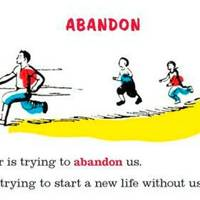 'Abandon', from My First Dictionary