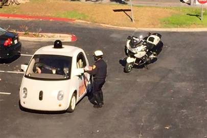 Google's driverless car just got pulled over for driving too slowly