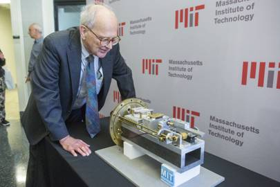 Rainer Weiss (pictured, above), Kip Thorne and Barry Barish won the 2017 Nobel Prize for Physics for their work on the Laser Interferometer Gravitational Wave Observatory, or Ligo