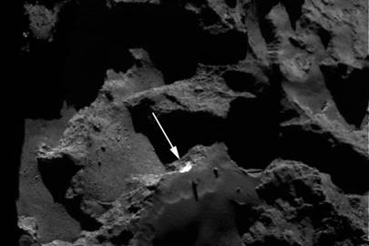 CU-led study captures proof of a landslide on a comet