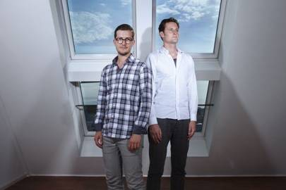 Alex Ljung and Eric Wahlforss, founders of SoundCloud