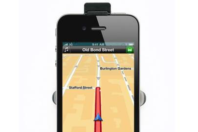 TomTom Europe iPhone app & car kit / iPhone 4