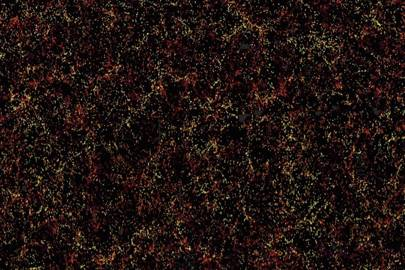 This map reveals 1.2 million galaxies and offers clues to how our universe is expanding and interacting with dark matter