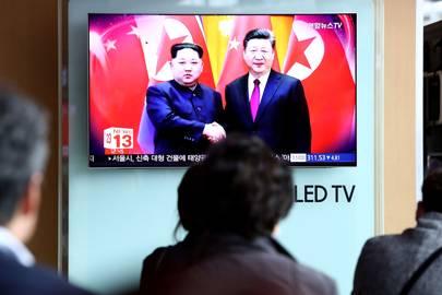Kim Jong-un meet Chinese President Xi Jinping