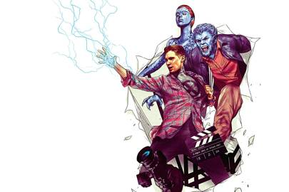 Director of the X-man films, Bryan Singer, brought characters like Beast and Mystique bursting from the comic page to the big screen