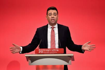 Labour's Andy Burnham