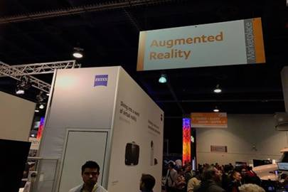 Robert Scoble posted the image from the Consumer Electronics Show in Las Vegas to his Facebook page