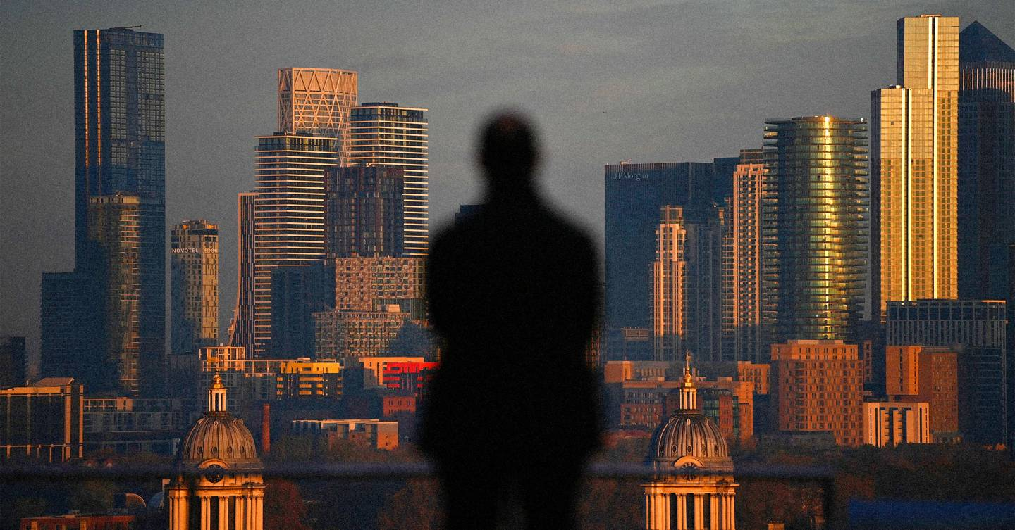 The rise and fall of Canary Wharf