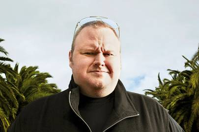At its peak, Kim Dotcom's company Megaupload carried 50 million passengers a day, four per cent of global internet traffic