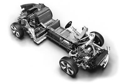 Under the i8's hood