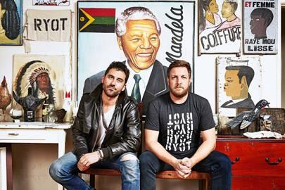 Bryn Mooser (left) and David Darg started RYOT