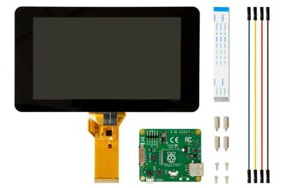 Raspberry Pi gets £48 touchscreen
