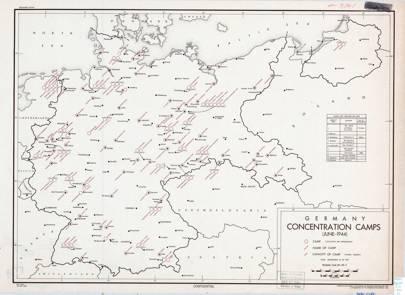 1944 German concentration camps