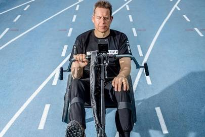 Paraplegic and former Paralympian Paul Moore will compete on behalf of UK team BerkelBike in the Functional Electrical Stimulation bike race
