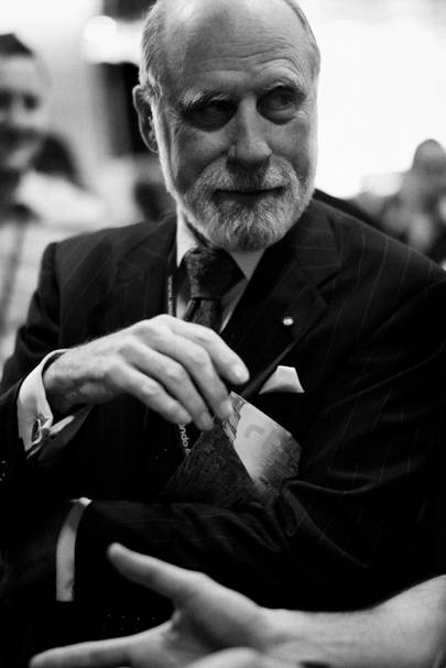 Father of the Internet Vint Cerf is responsible for helping develop the TCP/IP protocols that underly the web. In his role as Google's chief internet evangelist, Cerf is dedicated to thinking about the future of the net, including its use in space