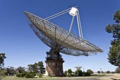 Parkes Observatory radio telescope