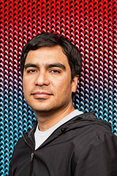 Carlos Olguin, a former electrical engineer from Mexico City, who is a user-interface specialist and heads Autodesk's bio-nano group in San Francisco
