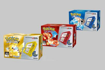 Pokémon marks 20th birthday with retro 2DS bundles