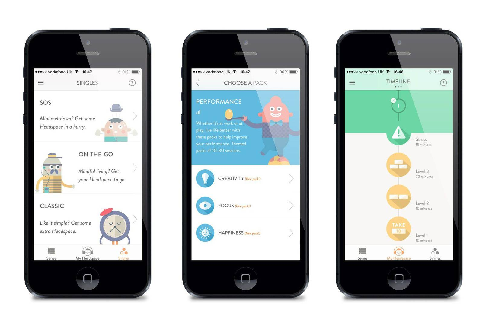 headspace 2 - 7 of the best health apps for mental and physical health