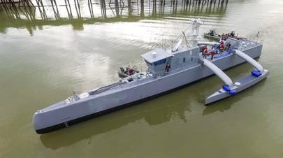DARPA's Anti-Submarine-Warfare Continous Trail Unmanned Vessel