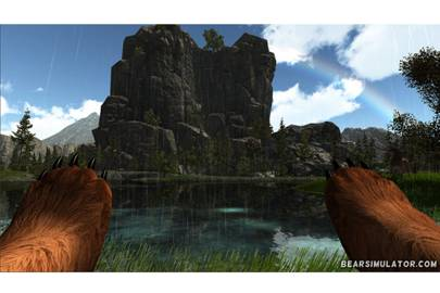 Bear Simulator: 'Like a mini Skyrim but you're a bear'