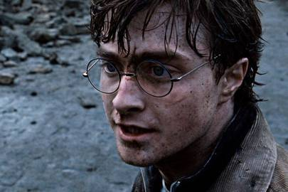 Harry Potter's famous face