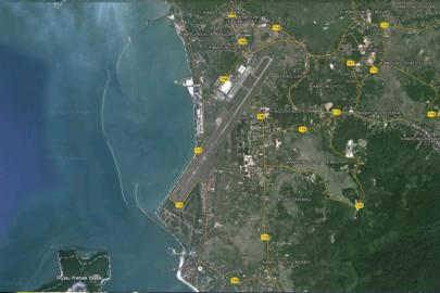 The airport at Pulau Langkawi