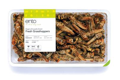 Brave gastronomes can snack on grasshoppers whole