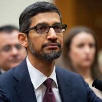 Google CEO Sundar Pichai testifies during a House Judiciary Committee