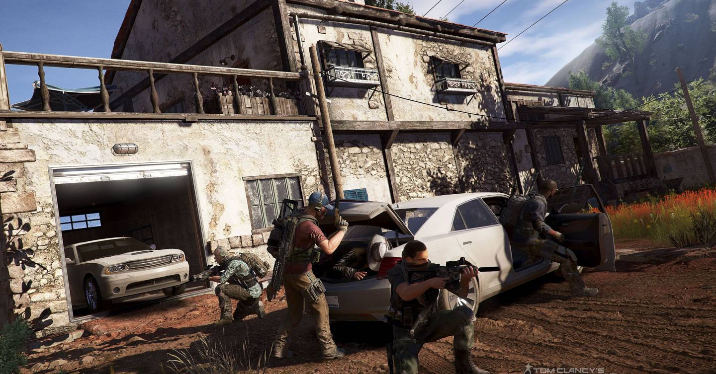 Ghost Recon Wildlands Review Wired Uk