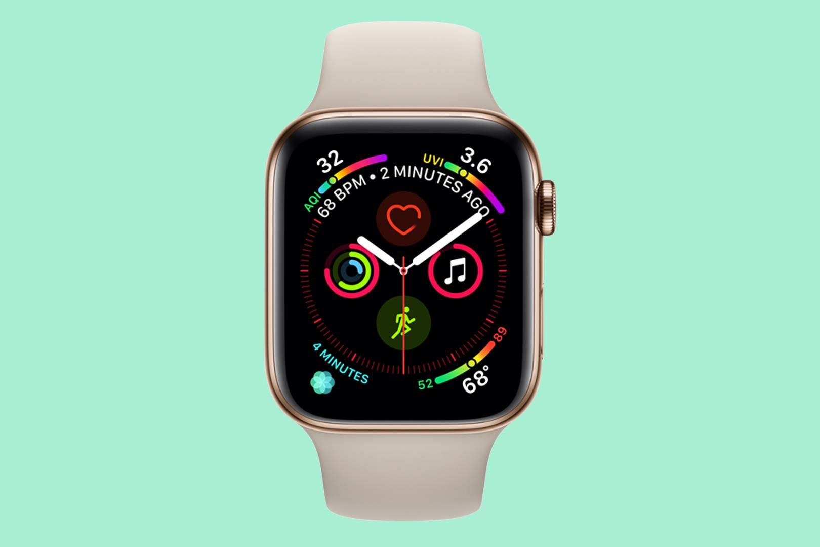 The ECG in the Apple Watch Series 4 is a potential healthcare
