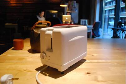 Say hi to Brad, a toaster with a problem