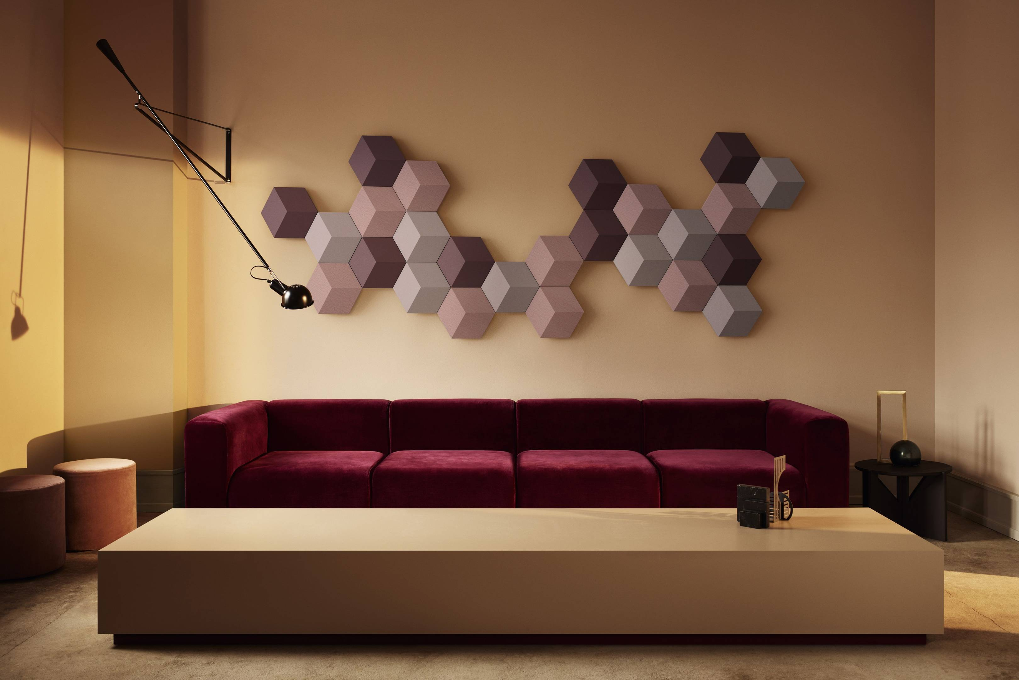 Bang & Olufsen's new wireless speaker system seamlessly clips together on your wall