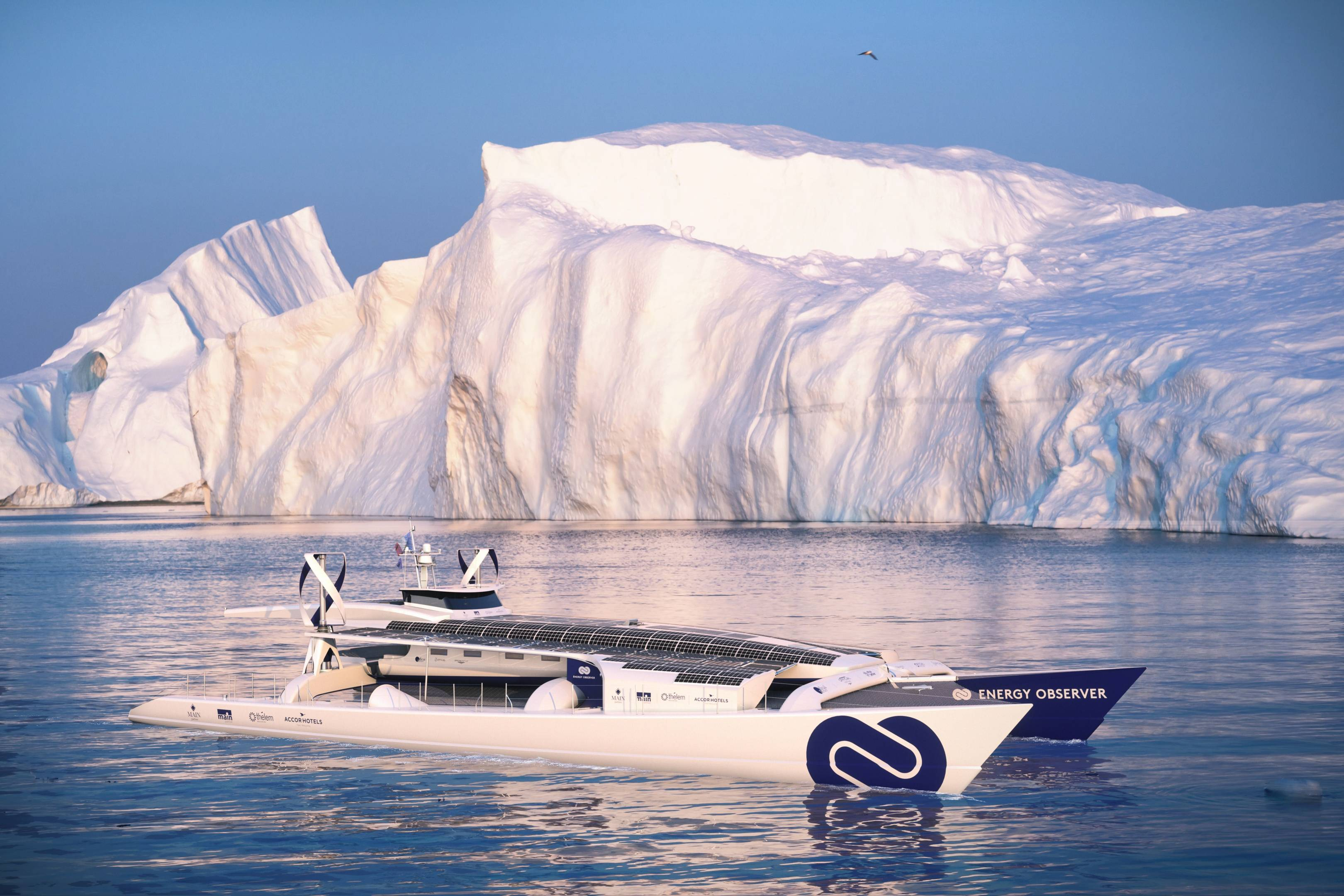 The Energy Observer: Boat powered by renewable energy to