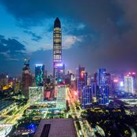 Futian CBD, Shenzhen, China