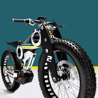 Two-wheeled classic: the Caterham Carbon E-Bike