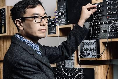 Yuri Suzuki manipulating sounds in Europe and Africa via the Global Modular