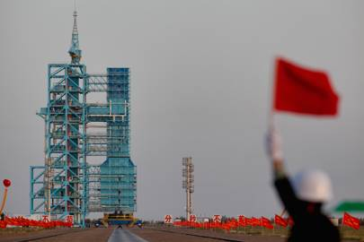 How likely is it that you'll get hit by China's Tiangong-1 space station?