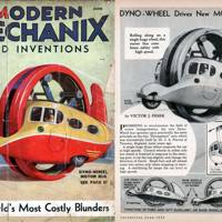 Dyno-Wheel Motor Bus -- Modern Mechanix, 1935