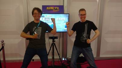 Ilkka Kalliomäki and Aki Kanerva are keeping the flame of Kinect gaming alive.