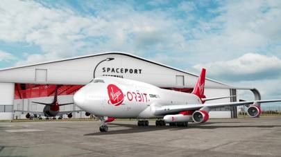 Artist's rendering of Virgin Orbit's planned Spaceport Cornwall