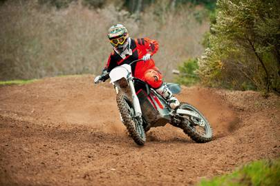Petrol motocross bikes require maintenance after five hours of track time; the RedShift SM needs it after 200 hours